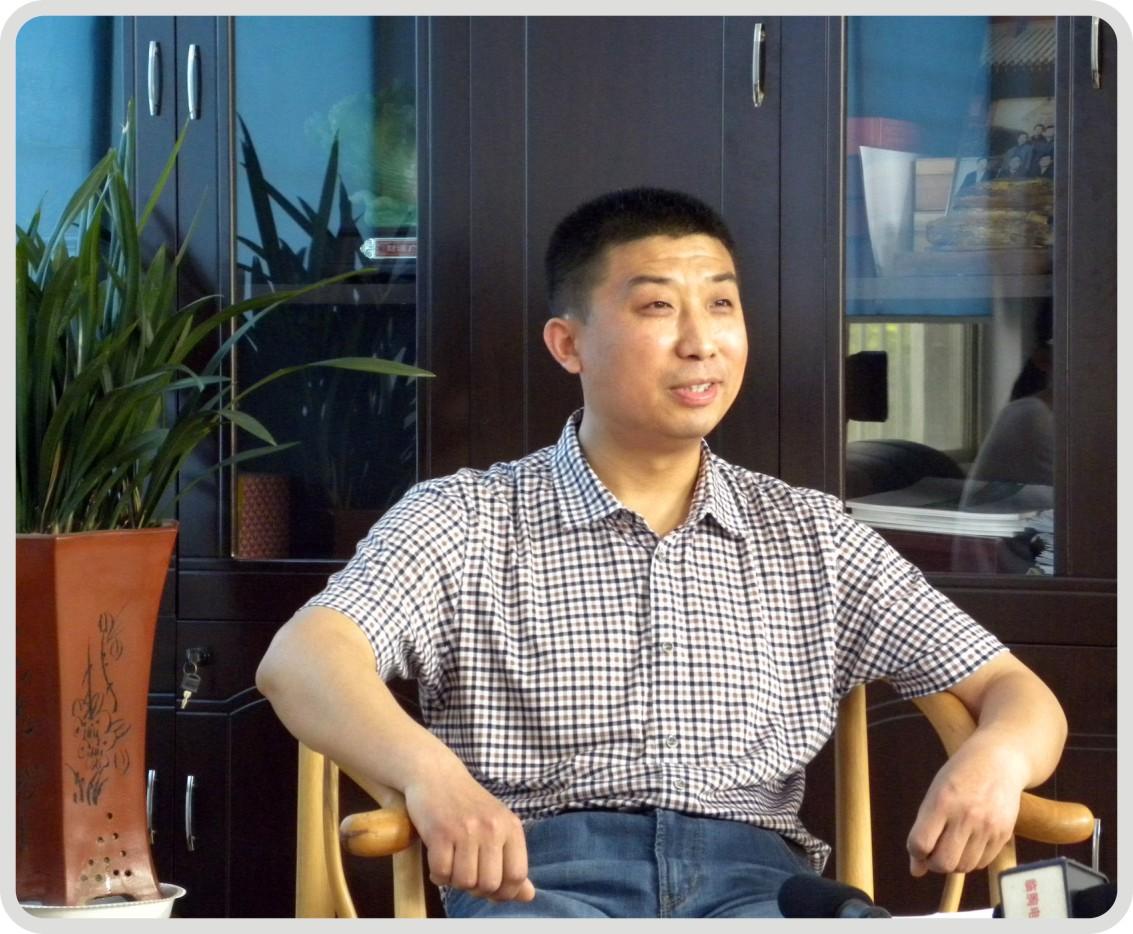 山东巨利铝业有限公司董事长-吴绍利接受媒体专访